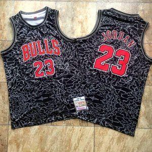 Chicago Bulls Michael Jordan Black Jersey (2)